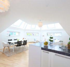Außergewöhnliche Dachgeschosswohnung