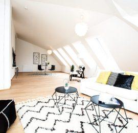 Moderne Dachgeschoßwohnung